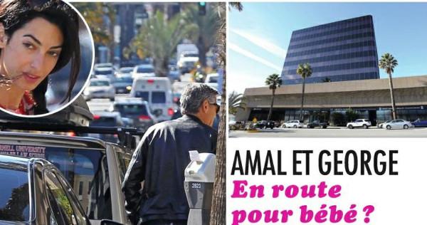George Clooney et Amal Alamuddin, bébé en route