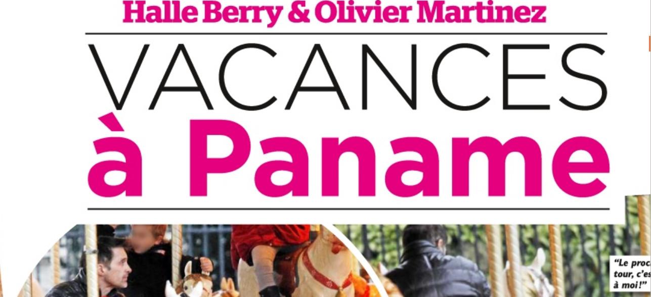 Halle Berry et Olivier Martinez en escapade à Paris