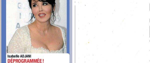Isabelle Adjani snobe Valérie Trierweiler