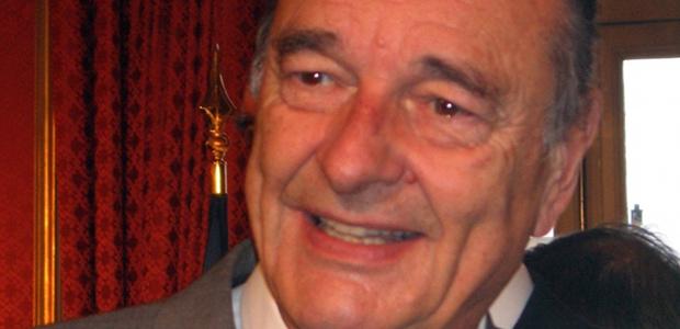 Jacques Chirac snobé par Raymond Domenech