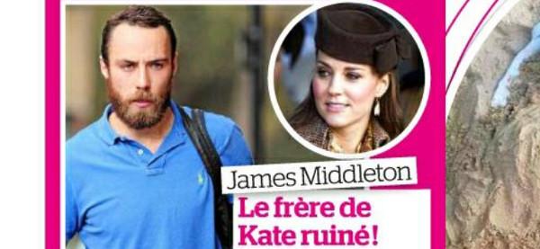 James Middleton, le frère de Kate Middleton, ruiné