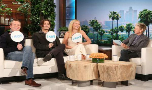 Johnny Depp tape dans l'oeil de Gwyneth Paltrow