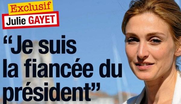Julie Gayet et François Hollande, une officialisation au resto