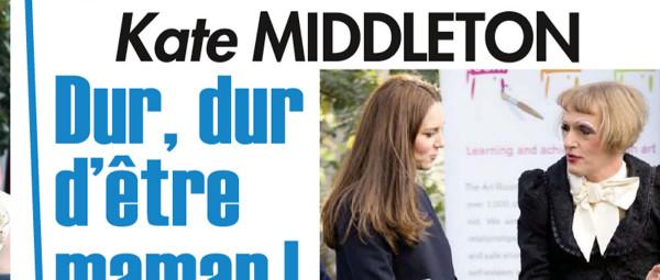 Kate Middleton, dur dur d'être une maman