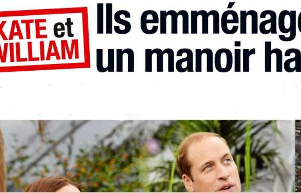 Kate Middleton et William emménagent dans un manoir hanté