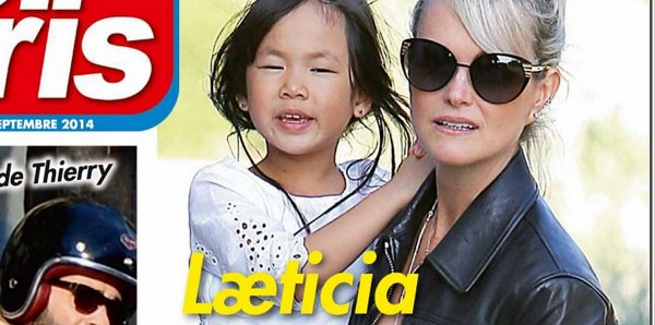 Laeticia Hallyday encore blessée (photo)