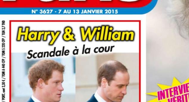 Les princes Harry et William, un scandale à la cour selon Ici Paris