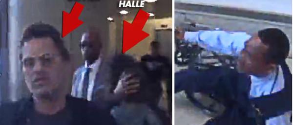 Olivier Martinez agresse un employé de l'aéroport avec un siège auto