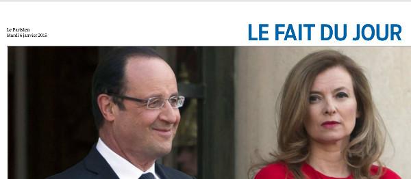 Valérie Trierweiler finira seule et riche selon les proches de François Hollande
