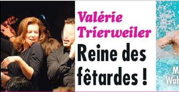 Valérie Trierweiler, la reine des fêtardes selon Closer