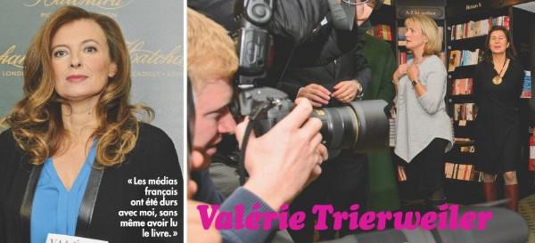 Valérie Trierweiler, toujours en contact avec la fille de Jacques Chirac