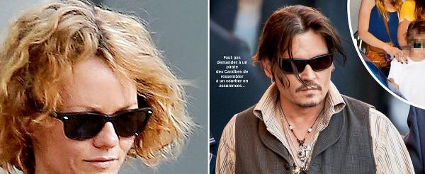 Vanessa Paradis, Johnny Depp résistait à l'appel de la bouteille