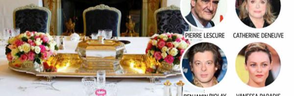 Vanessa Paradis, une soirée discrète avec Julie Gayet à l'Elysée