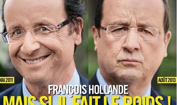 François Hollande, son régime Dukan aux oubliettes