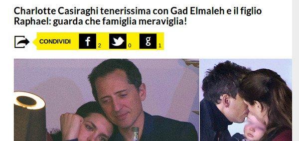 Gad Elmaleh et Charlotte Casiraghi, leur fils un «perdu» depuis qu'il marche