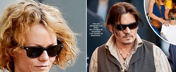 Vanessa Paradis répond oui à l'invitation de Johnny Depp,