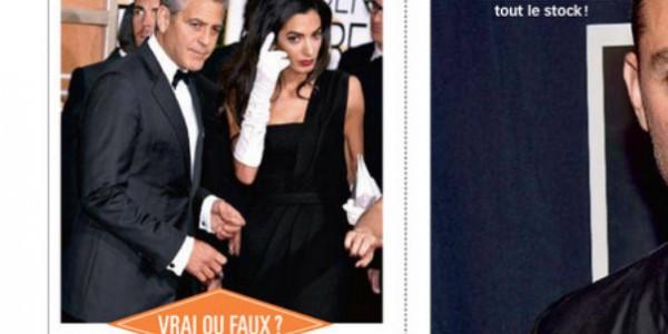 George Clooney fête sa future paternité avec ses potes