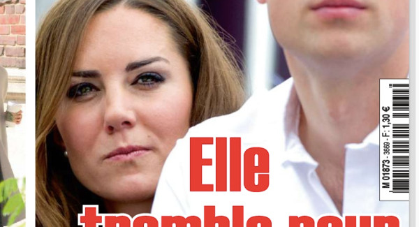 Kate Middleton tremble pour William selon Ici Paris