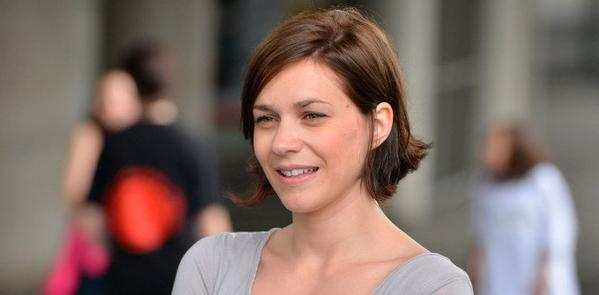 Nathalie Péchalat, première fan de Jean Dujardin, en salle avec Brice de Nice 3 (photo)
