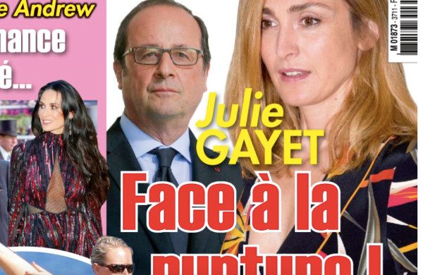 julie gayet et fran ois hollande face la rupture dans ici paris photos. Black Bedroom Furniture Sets. Home Design Ideas