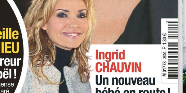 Ingrid Chauvin, un nouveau bébé en route ?