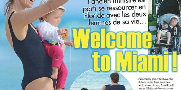 Aurélie Filippetti et Arnaud Montebourg « une pause détente» à Miami
