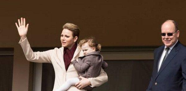 Charlène de Monaco évite le Bal de la Rose et s'affiche  Tournoi Sainte-Dévote (photo)
