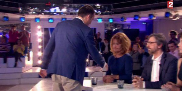 Gilbert Collard réagit à l'attitude de Clémentine Célarié dans ONPC