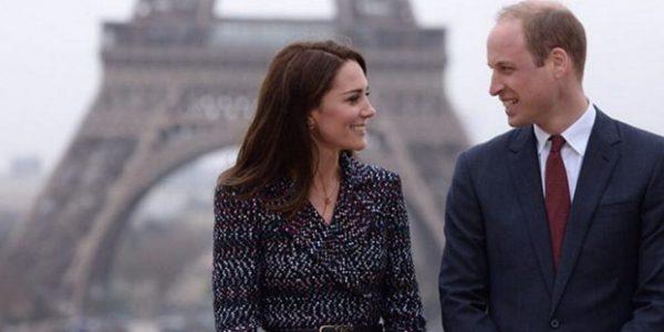 Kate Middleton et William émus par leur retour à Paris (photos)