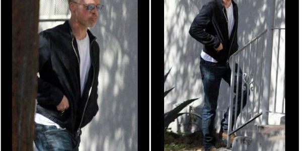 Brad Pitt amaigri à la première de «War Machine» à New York (photos)