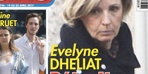 Evelyne Dhéliat détruite par la mort de son mari Philippe Maraninchi