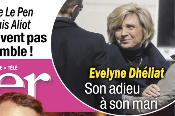 Evelyne dh liat son adieu son mari dans closer - Les deux minutes du peuple le salon funeraire ...