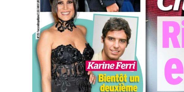 Karine Ferri enceinte de son deuxi\u00e8me enfant selon Voici