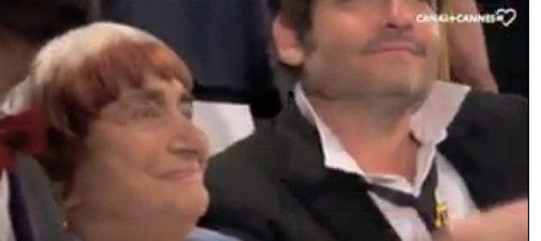 Agnès Varda émue par la standing ovation qui lui a été réservée au Festival de Cannes (vidéo)