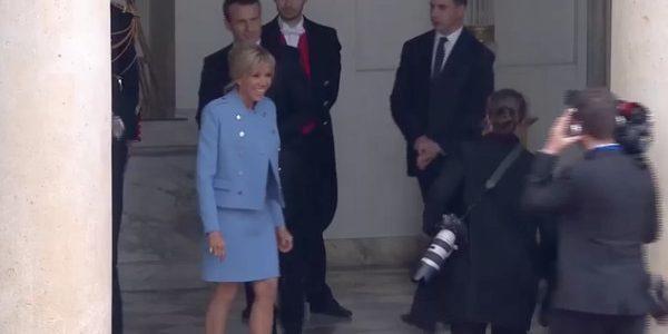 Emmanuel et Brigitte Macron à une soirée secrète chez Stéphane Bern