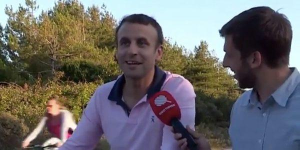Emmanuel Macron donne du fil à retordre à ses gardes du corps