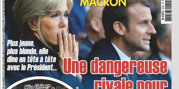 Emmanuel Macron, «une dangereuse rivale pour Brigitte», selon Ici Paris
