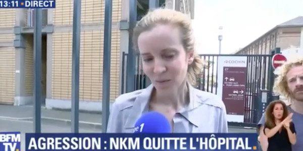 NKM va mieux après son agression «j'ai encore besoin de récupérer» (vidéo)