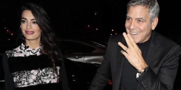 George et Amal Clooney, en virée romantique sans leurs jumeaux (photo)