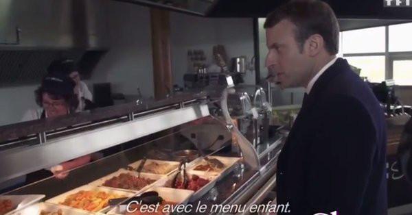 Emmanuel macron accro au cordons bleus le chef cuisinier for Cuisinier sur tf1