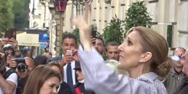 Céline Dion quitte Paris et fond en larmes (vidéo)
