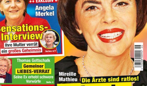 Mireille Mathieu Atteinte Dune Maladie Incurable Sa Réponse En