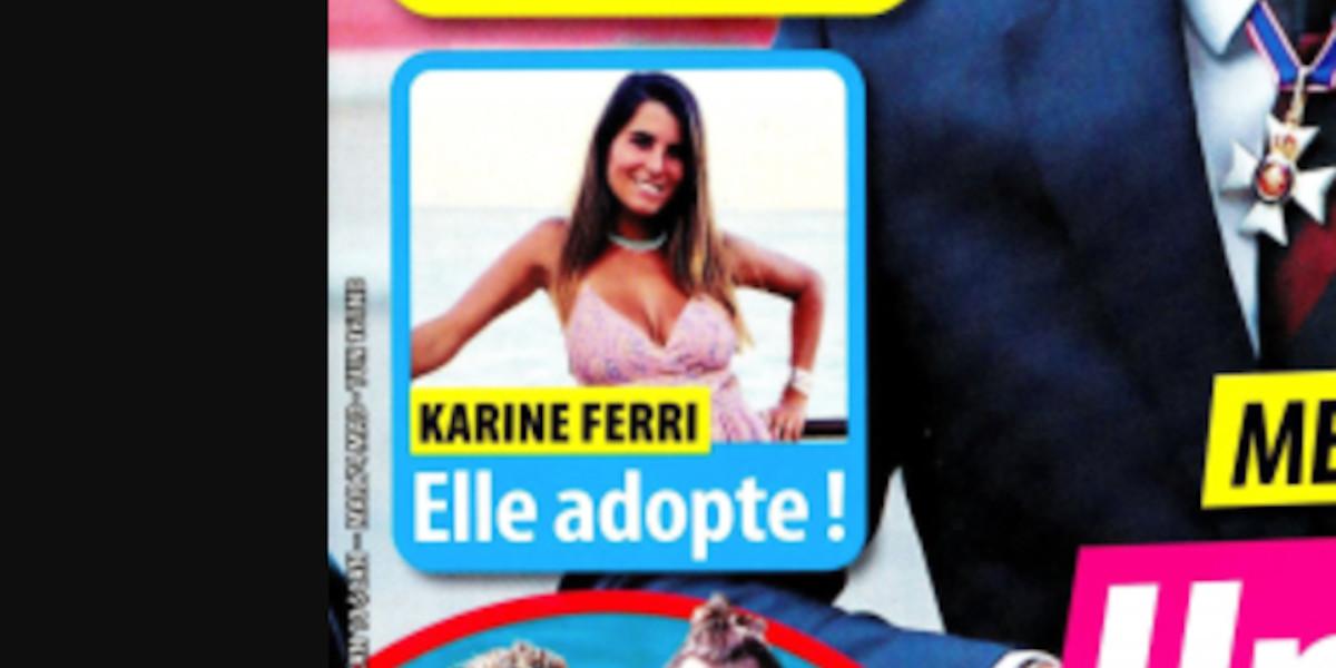 Karine Ferri adopte, une heureuse nouvelle annoncée