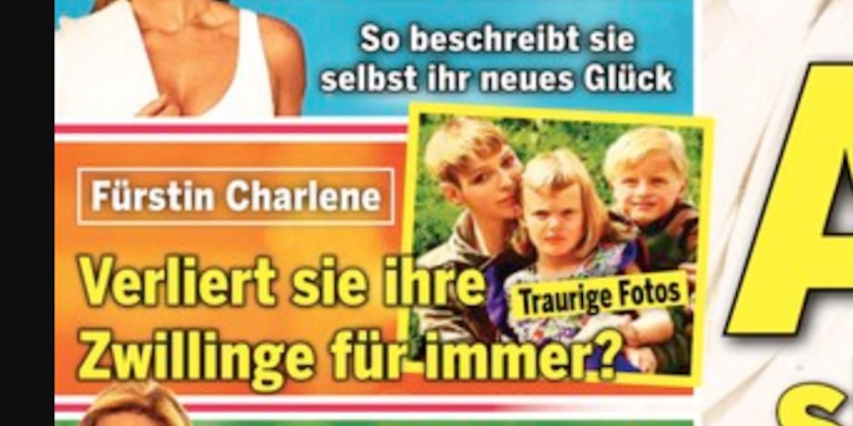 Charlène de Monaco, un danger pour ses enfants, la décision du prince Albert