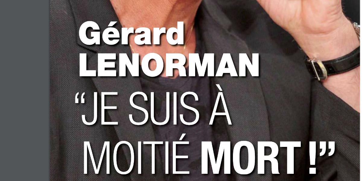 Gérard Lenorman à moitié mort, sa grave maladie dévoilée